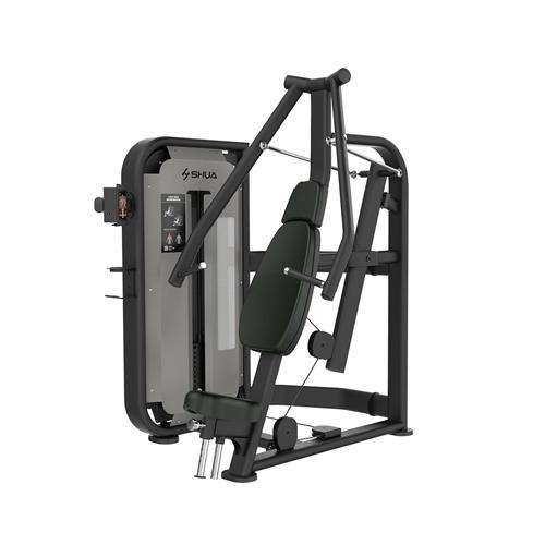 德赢vwin开户 坐式胸肌推举训练器(触屏版) SH-G6801T