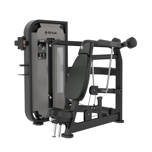 德赢vwin开户 坐式肩膊推举训练器(触屏版) SH-G6804T